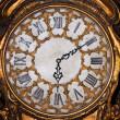 旧古董钟 — 图库照片