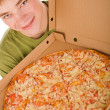 Pizza boy — Stock Photo #1991436