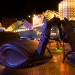 Amusement park at night — Stock Photo #1991459