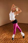 Dancer girl — Stock Photo