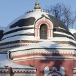 Church in the winter day — Stock Photo