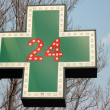 Stock Photo: Medical drugstore signboard