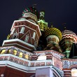 Stock Photo: Blessed Basil cathedral at night
