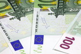 Europe euros banknote — Stock Photo