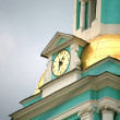 Clock on chapel — Stock Photo