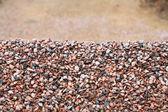 Heap of gravel — Stock Photo