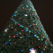 Toys on green christmas firtree — ストック写真 #1785403