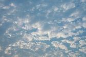 云上的天空 — 图库照片