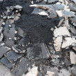 Stock Photo: Heap of asphalt