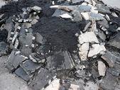 Heap of asphalt — Stock Photo