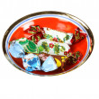 Stock Photo: Set of candies in sweet wrapper