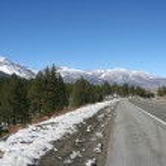 Empty road Sierra Nevada — Stock Photo #1599403