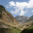 Stock Photo: Mountain valley Pakistan