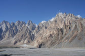 Karakorum range Pakistan — Stock Photo