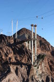 Newly build bridge Hoover Dam — Stock Photo