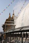 Swayambhunath Monkey temple Kathmandu — Stock Photo