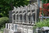 Japanes buddhist statues — Stock Photo