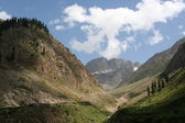 Mountain valley Pakistan — Stock Photo
