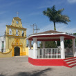 Quiet Mexican square — Stock Photo