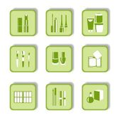 Cosmetic icons — Stock Vector