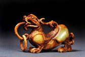 Chinese Jade Dragon — Stock Photo