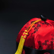 Red Chinese Hat — Stock Photo