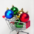 Royalty-Free Stock Photo: Christmas Shopping.