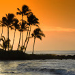 Stock Photo: Hawaii at Dusk.