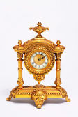 Gold French Clock — Stock Photo