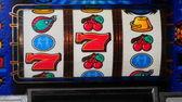 Slot machine wheels — Stock Photo