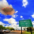 Stock Photo: Roswell UFO