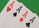 Four Aces — Stock Photo