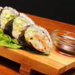 Stock Photo: Sushi Californirolls .