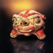 Pre Columbian Clay Rattle - Stock Photo