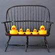 Rubber Duck Family. — Stock Photo