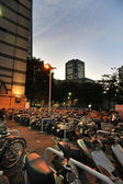Motorbikes of Yokohama,Japan. — Foto de Stock