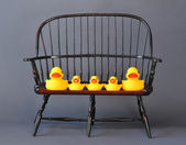 Rubber Duck Family. — Foto Stock