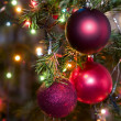 Christmas-tree decorations — Foto de stock #1720283