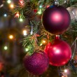 Christmas-tree decorations — 图库照片