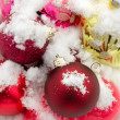 Foto Stock: Christmas-tree decorations