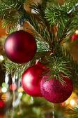 Сhristmas-tree decorations — Stock Photo