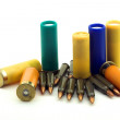Stock Photo: Hunting cartridges