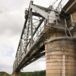 The railway bridge — Stock Photo