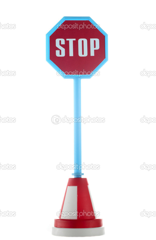 stop road sign stock photo dedmorozz 2386360. Black Bedroom Furniture Sets. Home Design Ideas