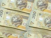 Money 200 PLN — Stock Photo