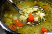 Cucumber soup — Stock Photo