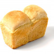 Stock Photo: White bread