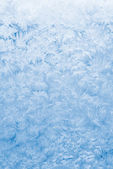 Frozen glass background — Stock Photo