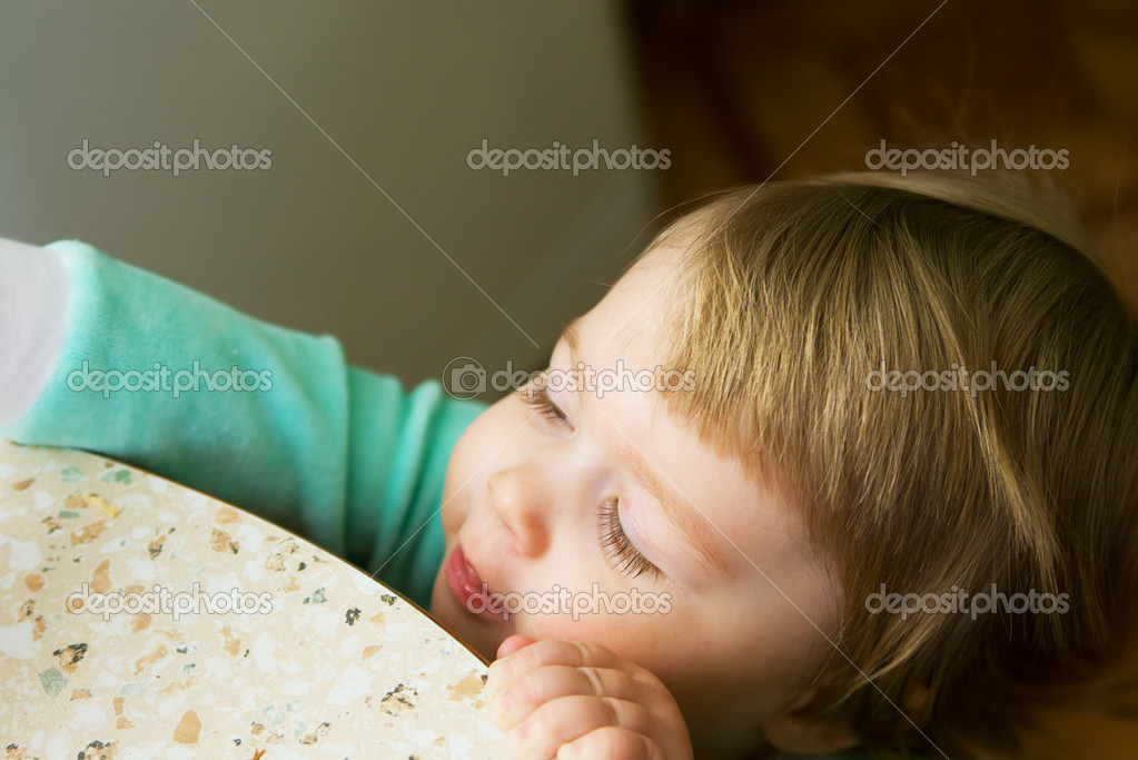 Small interesting baby — Stock Photo #1613187