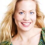 Portrait of beauliful blond sexy woman — Stock Photo